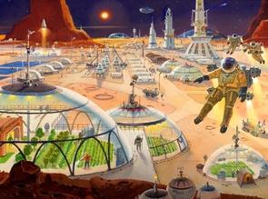 """Mars Metropolis"""