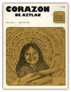 """UA faculty member Roberto Cintli Rodriguez is a former journalist who served as publisher and editor of """"Americas 2001"""" and """"El Corazon del Aztlan."""" (Photo courtesy of the UA Libraries)"""