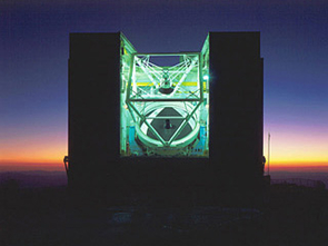 The 6.5-meter MMT on Mount Hopkins, Ariz., is the reincarnation of an earlier pioneering telescope.(Photo: Howard Lester, MMTO)