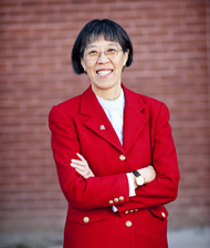 Honored for her accomplishments and leadership in higher education: UA Provost Jacqueline Lee Mok.