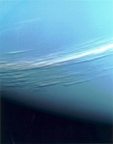 The Voyager 2 spacecraft photographed bands of clouds around Neptune during its flyby in 1989. (Photo: NASA)