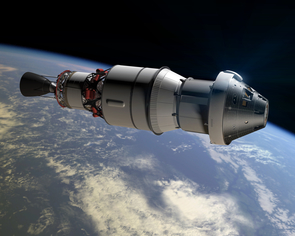 The capsule for Orion, which will transport humans to interplanetary destinations beyond low Earth orbit, such as the moon and eventually Mars. (Image: NASA)