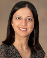 Dr. Priti Patel, an endocrinologist researcher and clinician with the UA College of Medicine's Angel Clinic.
