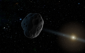 Unseen asteroids may be lurking in the solar system, in places that are difficult to observe from Earth. (Artist's illustration: NASA/JPL-Caltech)