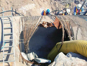 The catastrophic failure of this 8-foot-diameter Tucson water main in 1999 led to the loss of 38 million gallons of treated water, and costs of $4.3 million. Tucson Water has since implemented a high-tech strategy of prevention and prediction, including acoustic and electromagnetic monitoring, to keep close tabs on its 4,000-plus miles of drinking water mains.