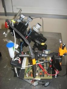 Robo-Moth: UA robot driven by moth's brain