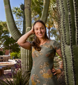 Joanna Monti-Masel, a researcher in the UA's department of ecology and evolutionary biology has received a grant from the John Templeton Foundation to study the evolution of new genes. (Image courtesy of Joanna Masel)