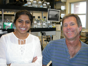 Ujwal Sheth and Roy Parker have found how living cells purge outdated genetic instructions. (Photo: Paul Muhlrad)