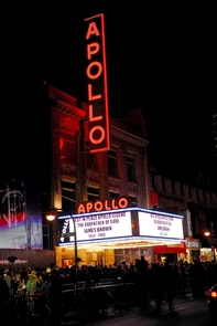 The famed Apollo Theater in Harlem