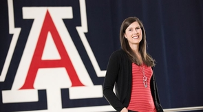 "UA sport psychologist Amy Athey: ""High performance when millions are watching brings unique challenges."""