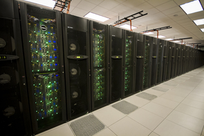 Cloud capacities for Jetstream will be hosted on supercomputers at Indiana University and Texas Advanced Computing Center. (Image courtesy of TACC)