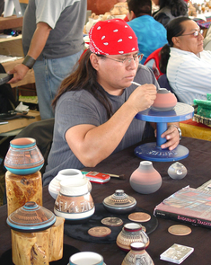 About 200 Native American artists from across the Southwest will partcipate in the fair.