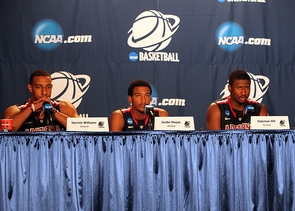 Arizona will play Duke in NCAA Tournament action on Thursday, March 24. (Photo by Patti Ota)