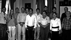 Members of the Tejido Group along with collaborators with the University of Panama.