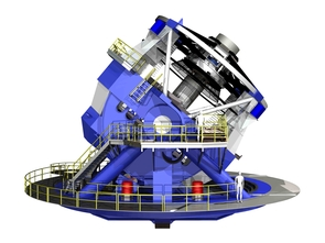 Artist's concept of the current LSST design