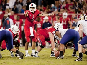 UA quarterback Matt Scott, the current Pac-10 Player of the Week.