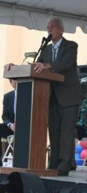 Stewart L. Udall attended a UA event in the November, during a renaming ceremony. At that time, the Morris K. Udall Foundation had been renamed the Morris K. Udall and Stewart L. Udall Foundation.