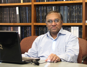 Pinnaduwa H. S. W. Kulatilake, professor of geological engineering in the UA College of Engineering.