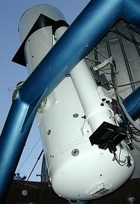 The Catalina Sky Survey uses a 28-inch Schmidt telescope near Mount Bigelow north of Tucson.