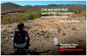 The Dangers Awareness Campaign, a public information campaign launched by U.S. Customs and Border Enforcement in 2014, aimed to communicate the dangers of unauthorized crossings to children and their families and inform potential crossers that they would not get legal status.
