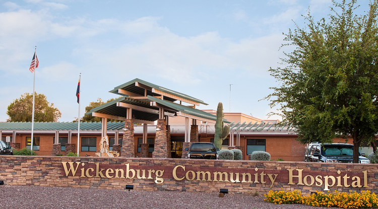 Wickenburg Community Hospital in Maricopa County is one of 16 hospitals in rural Arizona to receive COVID-19 relief funds through the Small Rural Hospital Improvement Program under the UArizona Center for Rural Health. (Photo: UArizona Center for Rural Health)