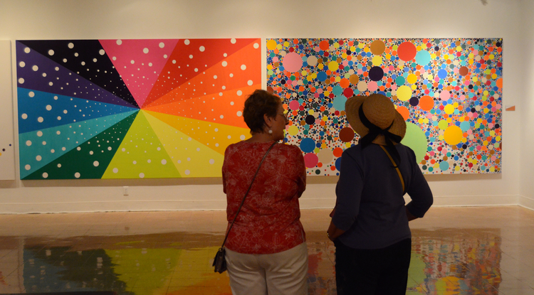 The UA Museum of Art and nearby galleries managed by the School of Art are prominent examples of the University's committment to the arts and humanities. (Photo credit: Patrick McArdle/UANews)