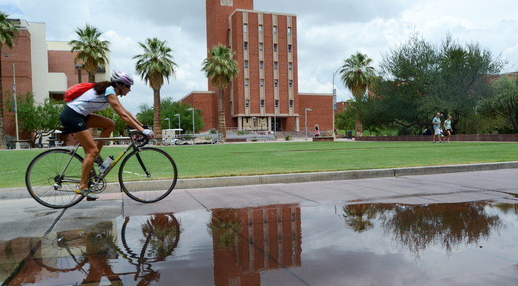 All told, 50 new and continuing NSF Graduate Research Fellows plan to attend graduate school at the UA in the fall – a record number for the University. (Photo credit: Patrick McArdle/UANews)