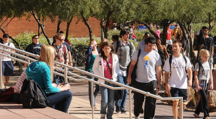 Earlier this year, ABOR formed the Arizona Public Universities' Statewide Task Force on Student Safety with the goal of promoting student safety on and off campus. (Photo credit: Norma Jean Gargasz)