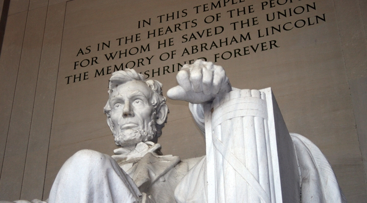 The Lincoln Memorial in Washington, D.C. (Photo by Margan Zajdowicz)