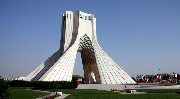 Azadi Square in the Iranian capital of Tehran