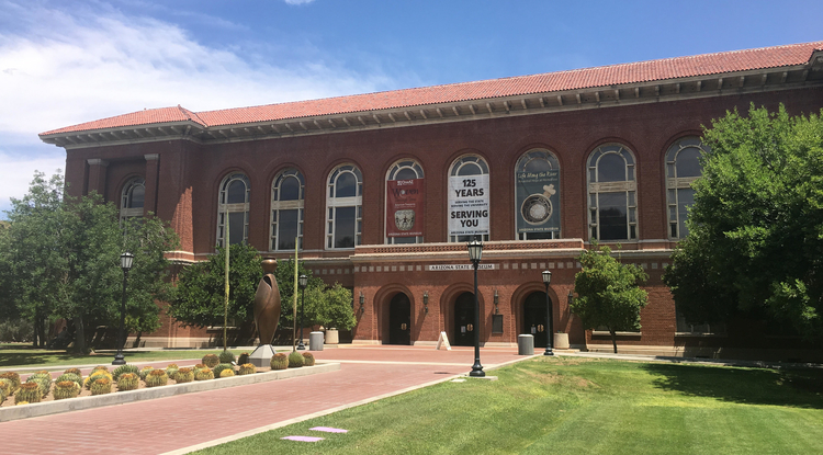The Arizona State Museum is the oldest and largest anthropology museum in the Southwest. (Photo: Cody Andrews/UA News)