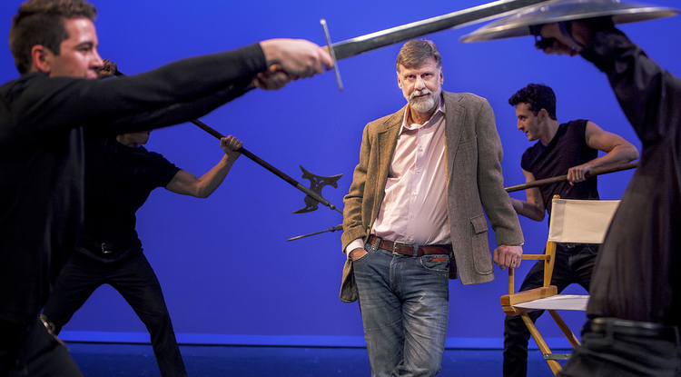Coinciding with the First Folio at the UA, Brent Gibbs, an associate professor and artistic director, is directing two of Shakespeare's plays. (Photo: John de Dios/UANews)