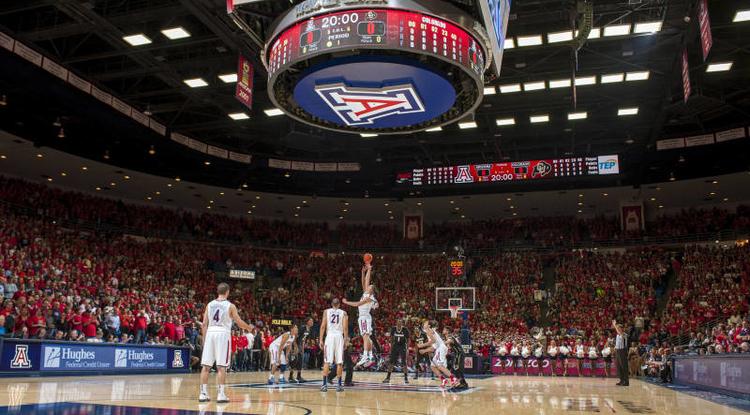Photo courtesy of Arizona Athletics