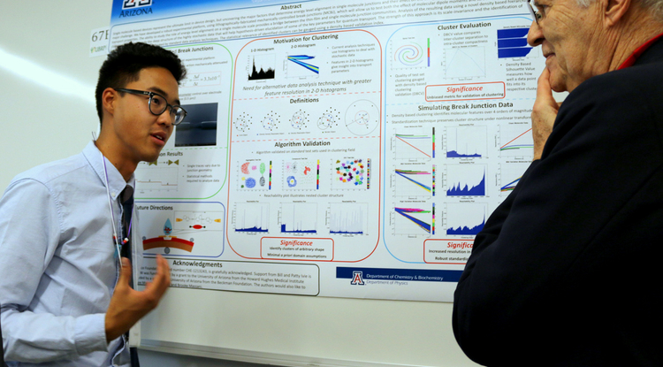 Ben Wu is a May UA graduate with degrees in mathematics and chemical engineering.