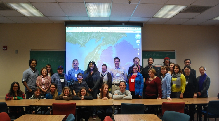 """The workshop and mapping project in Kamchatka stemmed from UA anthropologist Benedict Colombi's work with both indigenous peoples and scholars working in Kamchatka and from Colombi's book, """"Keystone Nations: Indigenous Peoples and Salmon Across the North Pacific."""" (Photo credit: Benedict Colombi)"""