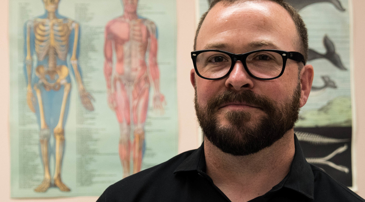 """This fall, Eric Plemons is teaching an undergraduate course on """"Bodies in Medicine"""" and a graduate seminar in """"Anthropology of the Body, Health and Illness."""""""