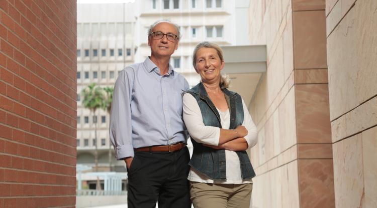 Donato Romagnolo and Ornella Selmin (Photo by csrichards.com)
