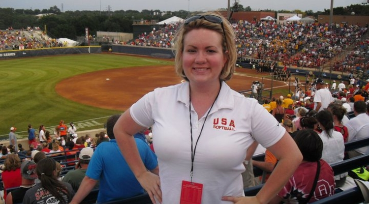 Jamie Blanchard, a UA alumna, is the communications manager for the United States Olympic Committee's U.S. Paralympics division.