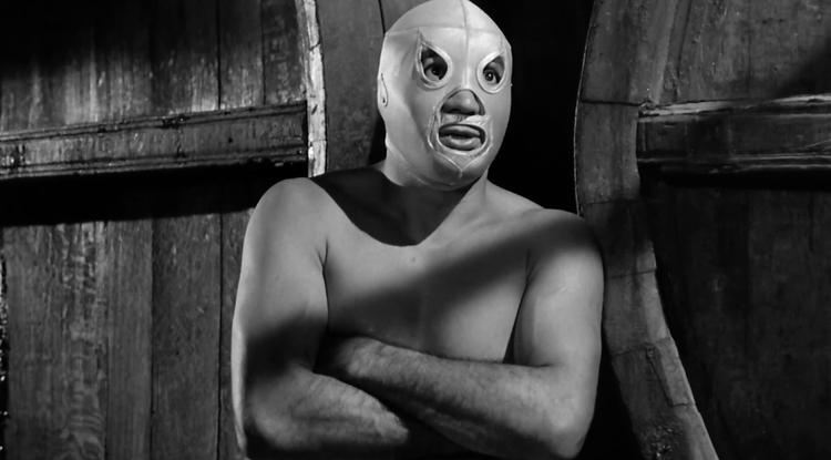 """Rodolfo Guzmán Huerta, also known as El Santo, stars in the 1961 film """"Santo Contra El Cerebro Del Mal (Santo Vs. the Evil Brain),"""" which will screen at the Fox Tucson Theatre as part of Tucson Cine Mexico."""