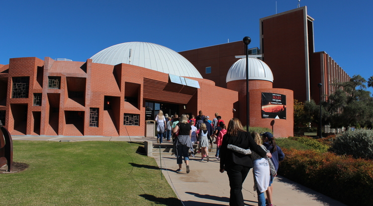 "The UA's Flandrau Science Center & Planetarium is home to two popular holiday shows, ""Season of Light"" and ""Laser Holidays."" (Photo courtesy of Shipherd Reed)"