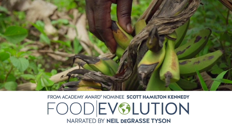 """Food Evolution"" offers ""a fresh, provocative perspective on the critical issue of food."""