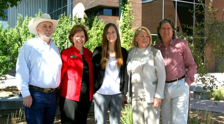 As part of her engagement initiative, UA President Ann Weaver Hart met with numerous constituents while touring Yavapai County this week.