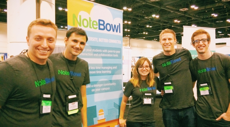 NoteBowl was selected as one of 20 startups to attend the EDUCAUSE Conference in Orlando last fall.