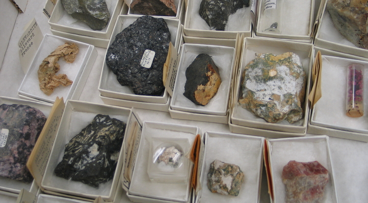 The UA Mineral Museum has received its largest ever donation of minerals, The donation of more than 8,000 samples is eight times larger than any other gift of minerals - more than 8,000 samples, including approximately 1,000 species the museum did not previously own.