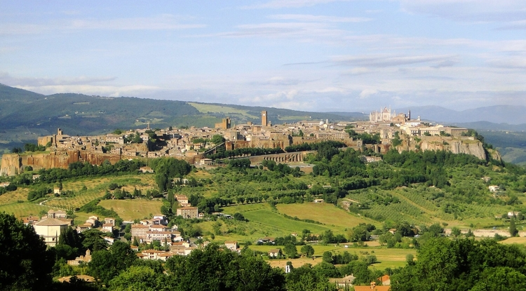 UA architecture students will travel to Italy with the Arizona in Italy Orvieto Study Abroad Program. While there, they will develop plans for a museum and exhibition center in the town of Lugnano. (Photo courtesy of the UA Office of Global Initiatives)
