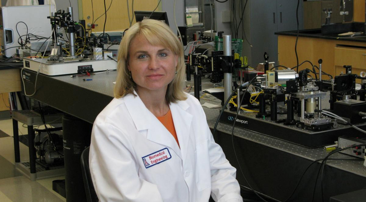 Biomedical engineer Jennifer Barton is renowned for her development of biomedical imaging technologies. (Photo courtesy of BIO5 Institute)