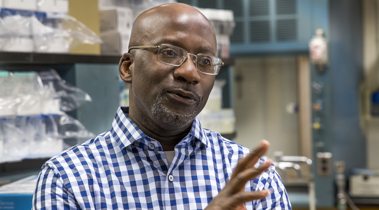 UA researcher Rick Kittles is a national leader on health disparities and the role of genes and environment in disease. (Photo: Bob Demers/UANews)
