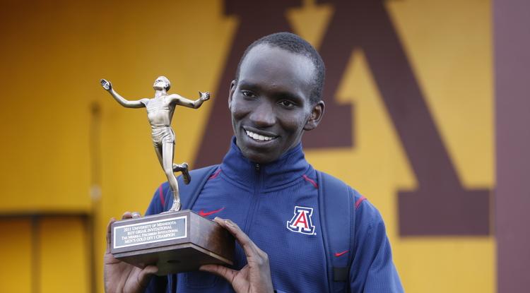 Lawi Lalang (photo courtesy of Arizona Athletics)