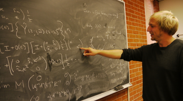 The work of Sloan Research Fellowship winner Matthias Morzfeld focuses on applied and computational mathematics.