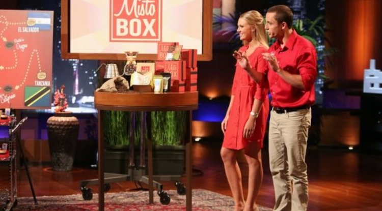 "McGuire alumni Connor Riley and Samantha Meis, received national attention in the spring when they presented their subscription-based coffee business, MistoBox, on the NBC reality TV show ""Shark Tank."""